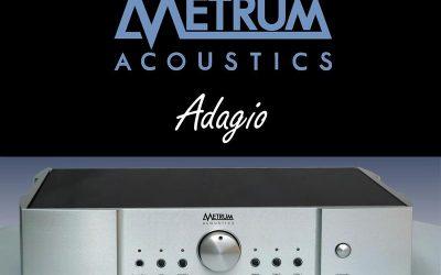 Metrum Acoustics Adagio DAC mit Lautstärkeregelung