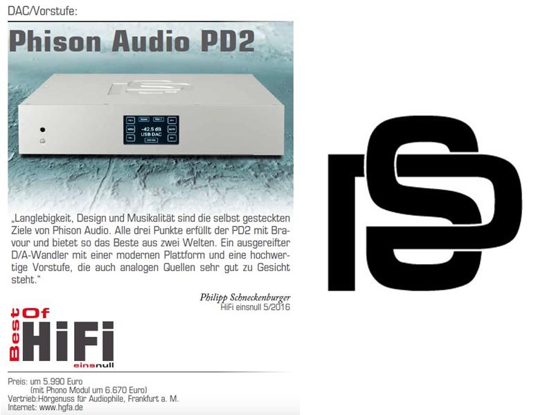 Best of HiFi Einsnull: Phison PD2