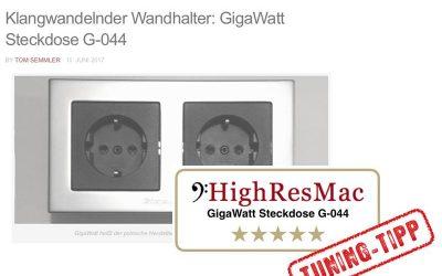 GigaWatt G-044 Wandsteckdose im Test