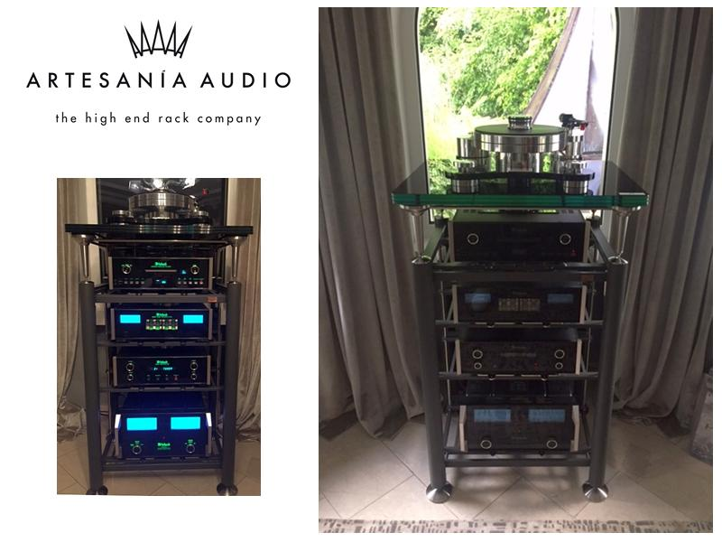 Artesania High End Rack Kundeninstallation