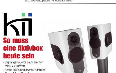 Testbericht Kii THREE Aktivlautsprecher bei HiFi Einsnull