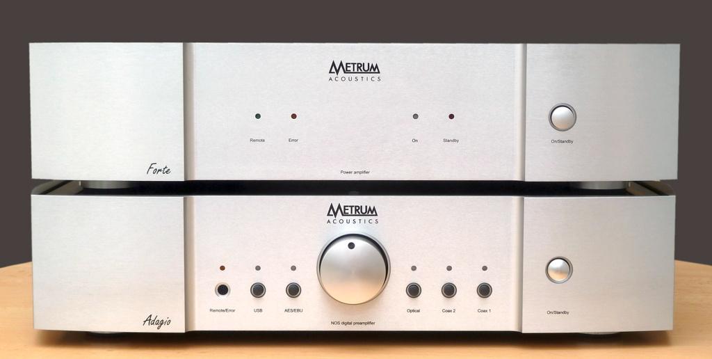Metrum Acoustics Adagio DAC, Forte Endstufe