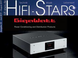 GigaWatt Testbericht Hifi Stars Ausgabe 35