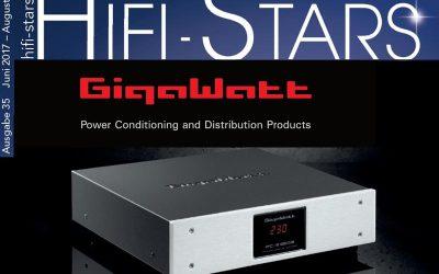 GigaWatt Testbericht im Hifi Stars Magazin