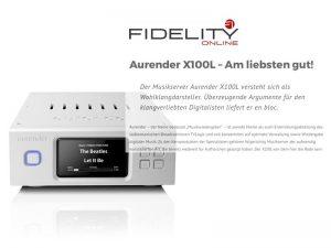 Testbericht Aurender X100 Musikserver bei Fidelity