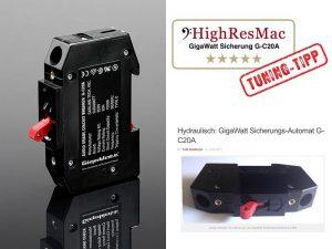Testbericht GigaWatt G-C20A Sicherungs-Automat