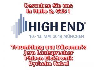 High End 2018 in München