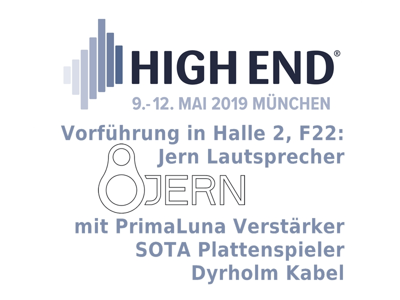 High End Munich 2019