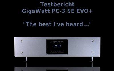 Testbericht GigaWatt PC-3 SE EVO+ Netzfilter