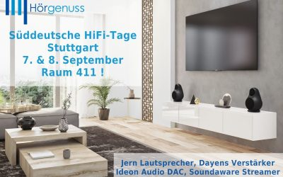 Süddeutsche HiFi-Tage Stuttgart 7. & 8. September 2019