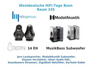 Westdeutsche HiFi-Tage Bonn 2019
