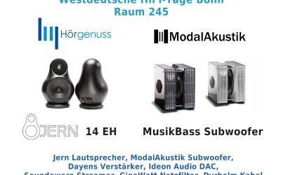 Westdeutsche HiFi-Tage Bonn 28./29. September