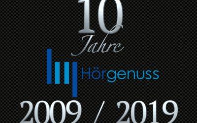 10 Jahre Hörgenuss in Frankfurt – kommen Sie zu unserem Event im Dezember!