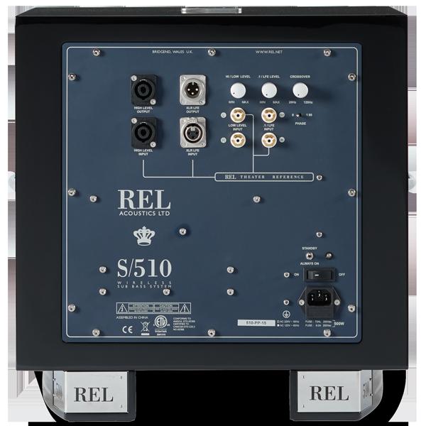 REL S/510 Subwoofer schwarz