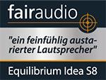 Equilibrium Idea S8 bei fairaudio im Test