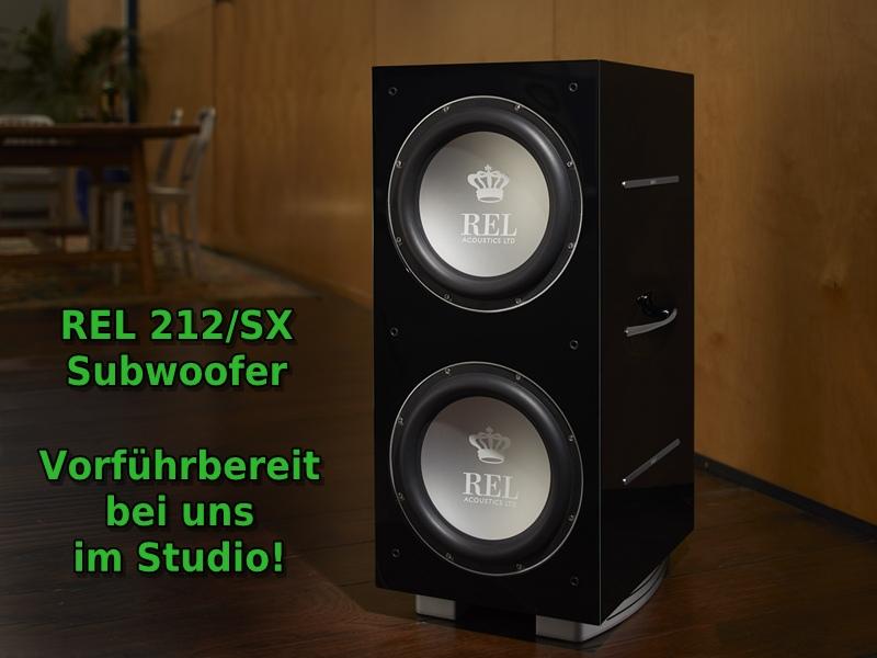 REL 212/SX Subwoofer