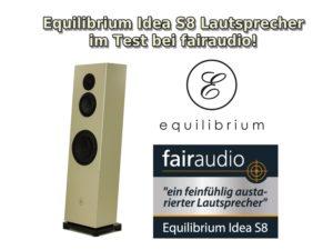 Testbericht Equilibrium Idea S8 Lautsprecher