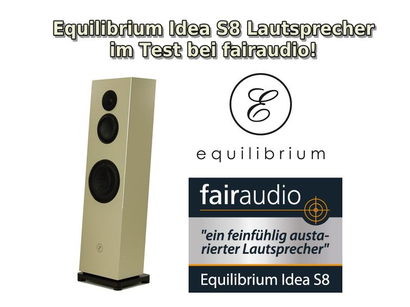 Lautsprecher-Test Idea S8 online bei fairaudio!