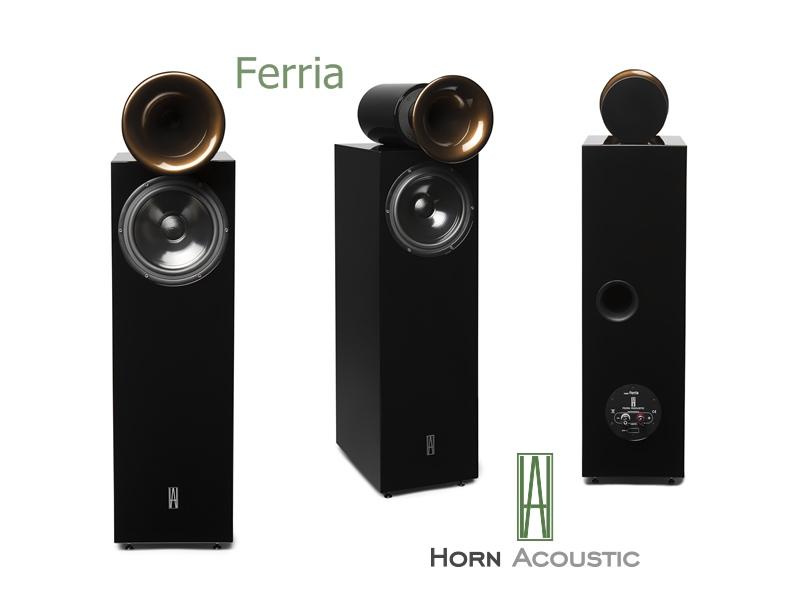 """Neues Lautsprecher Modell """"Ferria"""" von Horn Acoustic"""