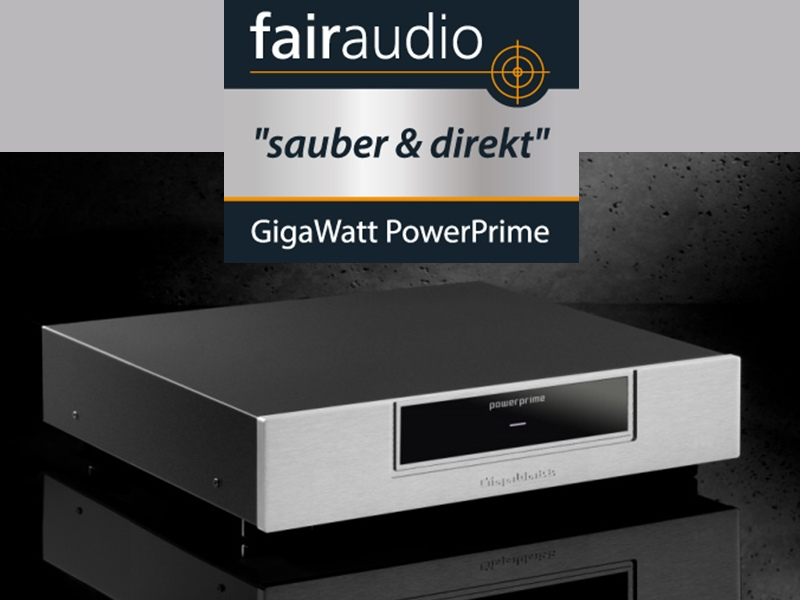 GigaWatt PowerPrime Testbericht Fairaudio